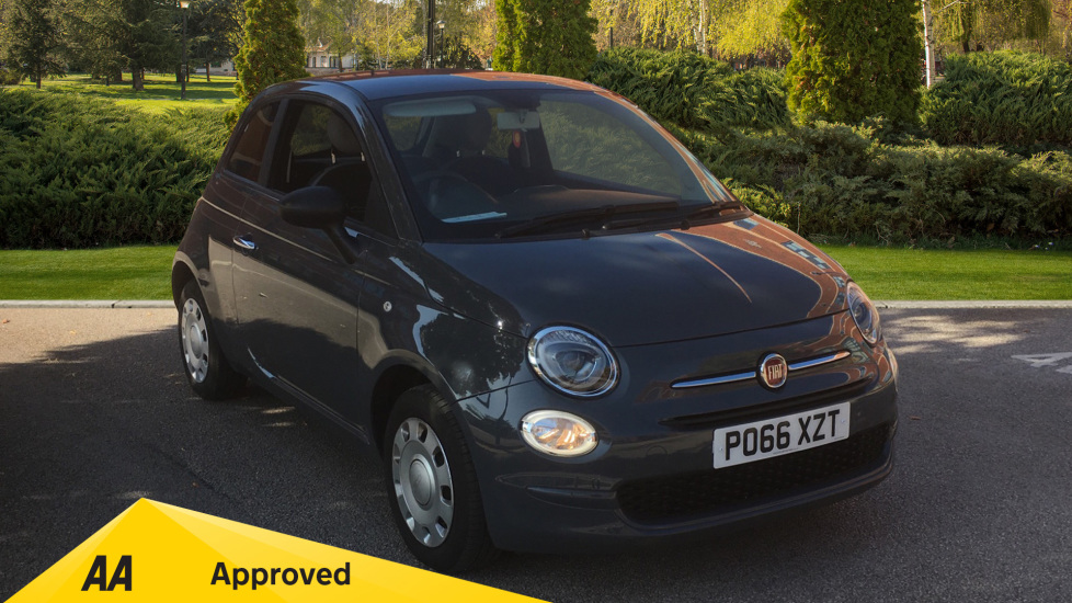 Fiat 500 1.2 Pop with Multi-function Steering Wheel and LED Daytime Lights 3 door Hatchback (2016)
