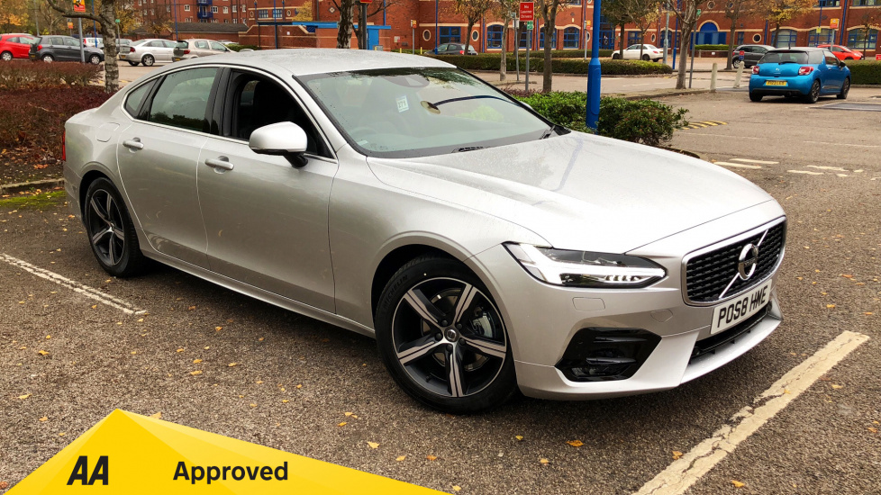 Volvo S90 2.0 D4 R DESIGN 4dr Geartronic - Very Low Mileage and Excellent Saving on List Price Diesel Automatic Saloon (2018) image
