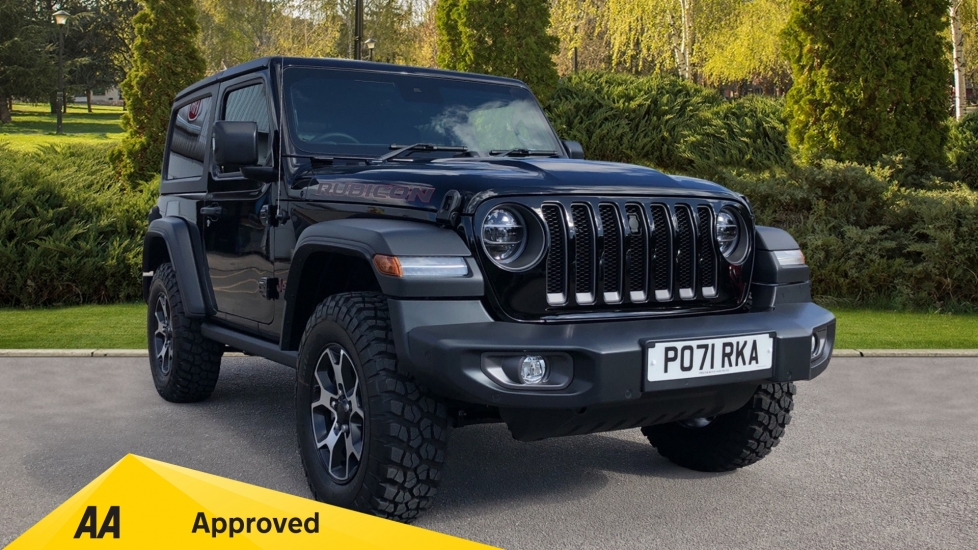 Jeep Wrangler 2.0 GME Rubicon 2dr Auto8 - Hardtop, Heated Front Seats, Reverse Camera & Sat Nav Automatic Hatchback (2021) image