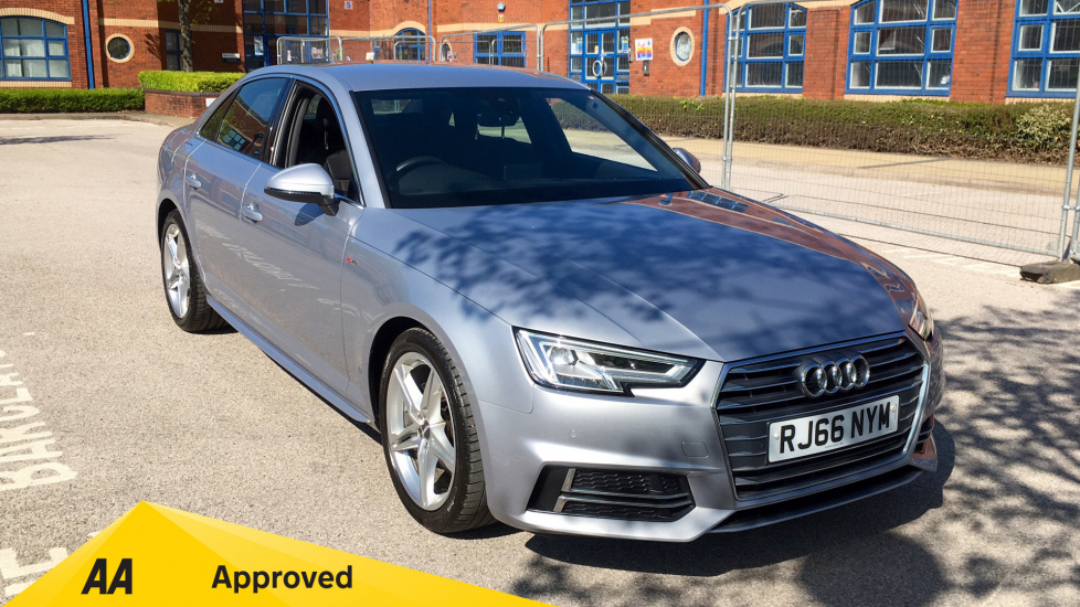 Audi A4 2.0T FSI S Line 4dr Saloon Manual (2017) at Grange Specialist Cars Swindon thumbnail image