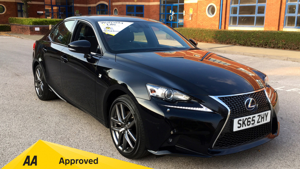 Lexus IS 300h F-Sport CVT 2.5 Petrol/Electric Automatic 4 door Saloon (2015) image
