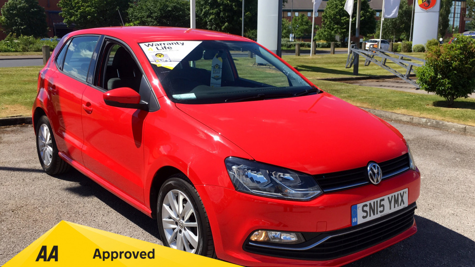 Volkswagen Polo 1.4 TDI SE with DAB Radio and Bluetooth Diesel 5 door Hatchback (2015) image