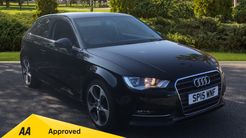 Audi A3 1.2 TFSI 110 Sport 3dr with Desirable Factory Fitted Extras Hatchback (2015) image