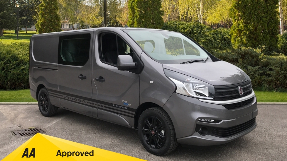 Fiat Talento CREWE  VAN  6 SEATER LWB 170BHP ONYX EDITION  AIRCON CRUISE NAV ALLOYS CAMERA LED  2.0 Diesel 6 door (2020)