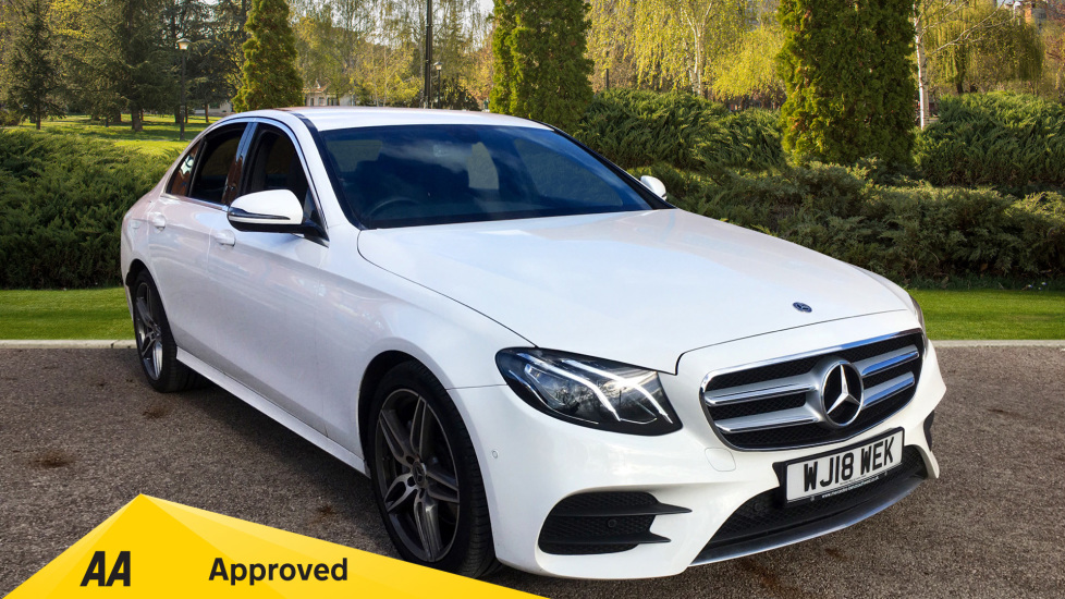 Mercedes-Benz E-Class E220d AMG Line 9G-Tronic fitted with Swarovski Crystal Headlights 2.0 Diesel Automatic 4 door Saloon (2018) at Preston Motor Park Fiat and Volvo thumbnail image