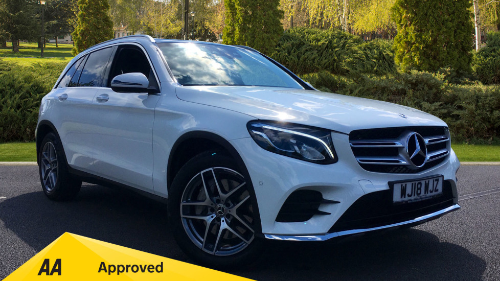 Mercedes-Benz GLC-Class GLC 220d 4Matic AMG Line Premium 5dr 9G-Tronic 2.1 Diesel Automatic Estate (2018) at Preston Motor Park Fiat and Volvo thumbnail image