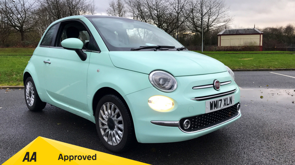 Fiat 500 1.2 Lounge Facelift Model with Rear Park Assist, Bluetooth and USB 3 door Hatchback (2017) at Preston Motor Park Fiat and Volvo thumbnail image