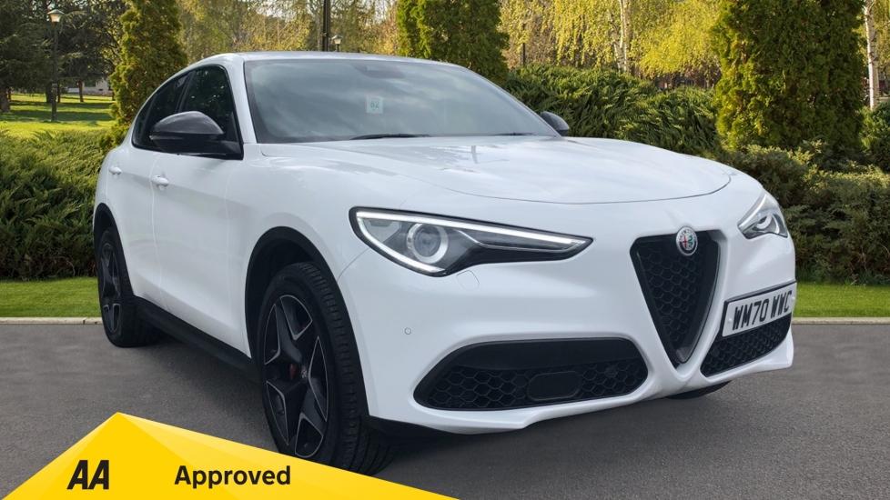 Alfa Romeo Stelvio 2.0 Turbo 280 Ti - 20in Alloy Wheels, Alfa Connect 3D Nav & Parking Sensors Automatic 5 door Estate (2021)