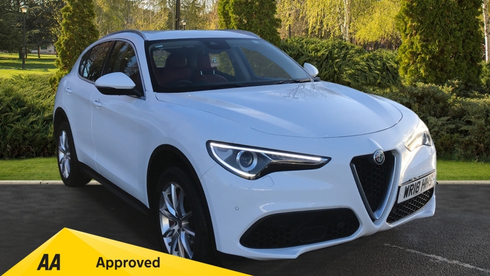 Alfa Romeo Stelvio 2.0 Turbo 280 Speciale 5dr Rear backup camera and Aluminium Roof rails Automatic Estate (2018)
