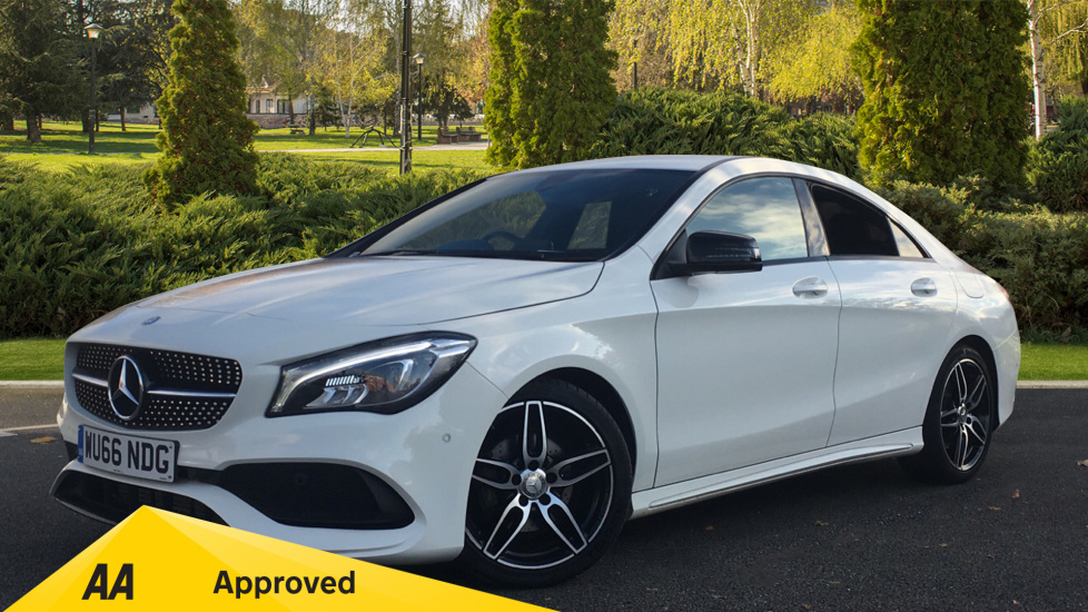 Mercedes-Benz CLA-Class CLA 200d AMG Line 4dr 2.1 Diesel Saloon (2016) at Preston Motor Park Fiat and Volvo thumbnail image