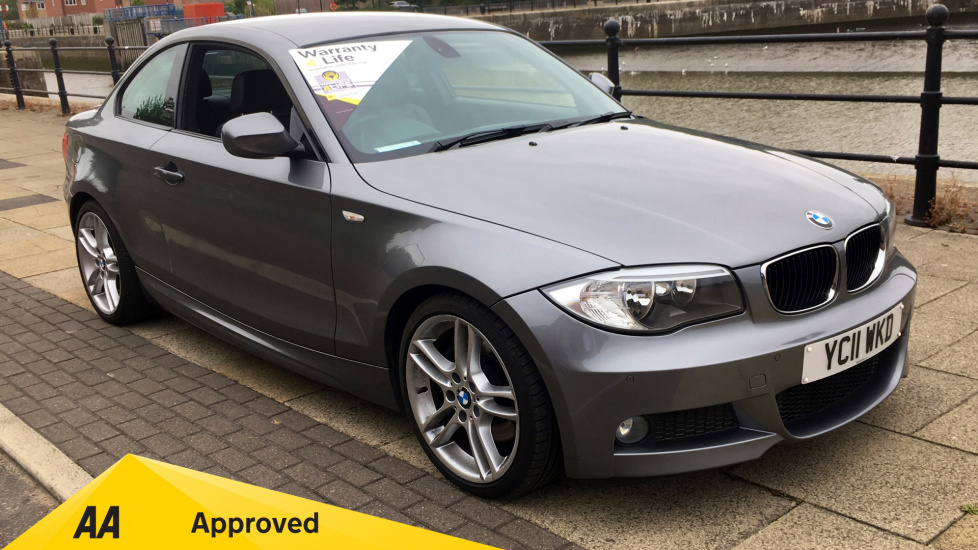 BMW 1 Series 123d M Sport 2dr 2.0 Diesel Coupe (2011) at Preston Motor Park Fiat and Volvo thumbnail image