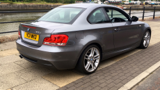 BMW 1 SERIES 123D M SPORT COUPE, DIESEL, in GREY, 2011 - image 3