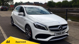 MERCEDES A-CLASS A45 AMG 4MATIC HATCHBACK, PETROL, in WHITE, 2016 - image 0