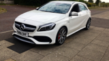MERCEDES A-CLASS A45 AMG 4MATIC HATCHBACK, PETROL, in WHITE, 2016 - image 8