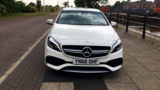 MERCEDES A-CLASS A45 AMG 4MATIC HATCHBACK, PETROL, in WHITE, 2016 - image 9