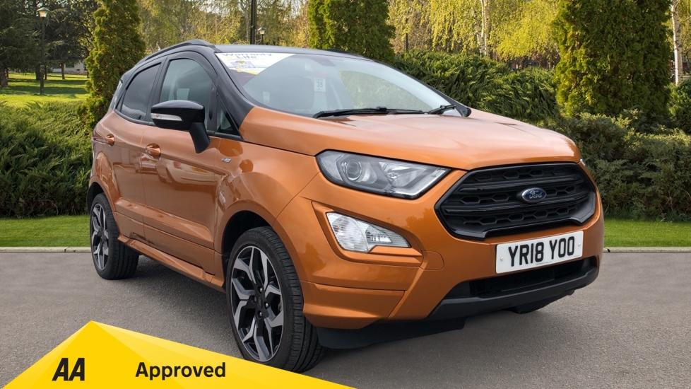Ford EcoSport 1.0 EcoBoost 125 ST-Line 5dr - Reverse Camera, Satellite Navigation & Cross Traffic Alert Hatchback (2018)