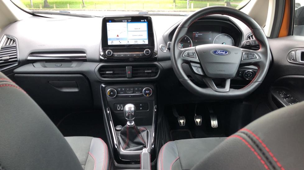 Ford EcoSport 1.0 EcoBoost 125 ST-Line 5dr - Reverse Camera, Satellite Navigation & Cross Traffic Alert image 9