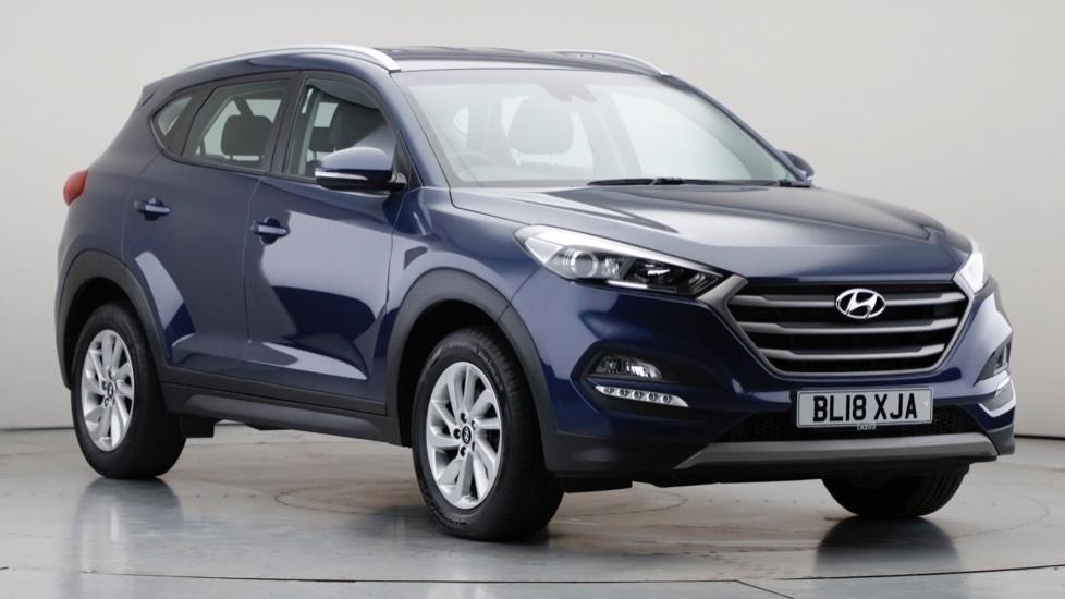 2018 Used Hyundai Tucson 1.6L SE Nav Blue Drive GDi
