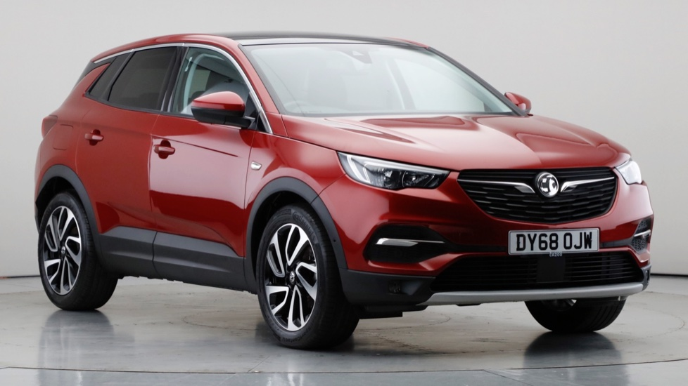 2018 Used Vauxhall Grandland X 1.5L Elite Nav BlueInjection Turbo D