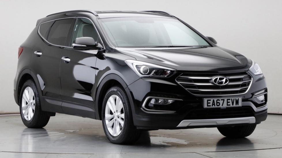 2017 Used Hyundai Santa Fe 2.2L Premium Blue Drive CRDi
