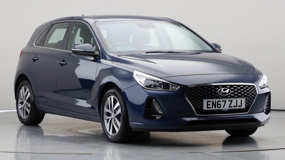 2018 Used Hyundai i30 1L SE Nav Blue Drive T-GDi