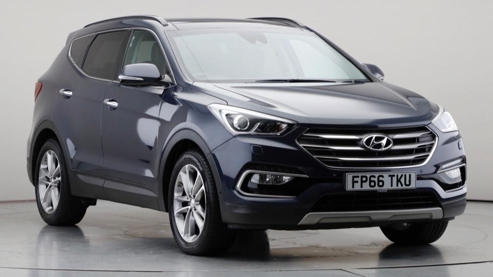 2016 Used Hyundai Santa Fe 2.2L Premium SE Blue Drive CRDi
