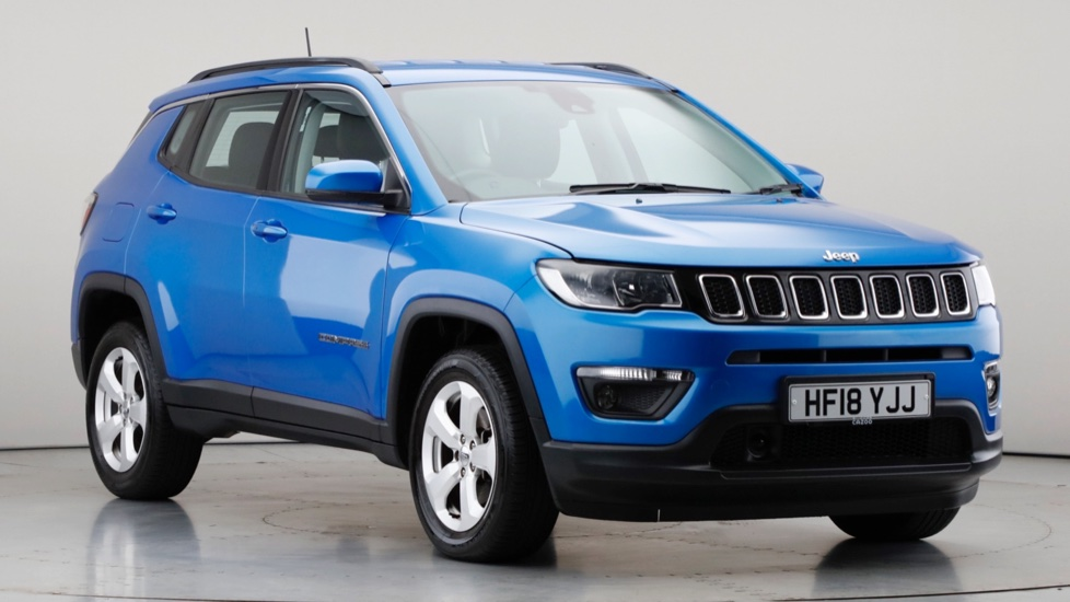 2018 Used Jeep Compass 2L Longitude MultiJetII