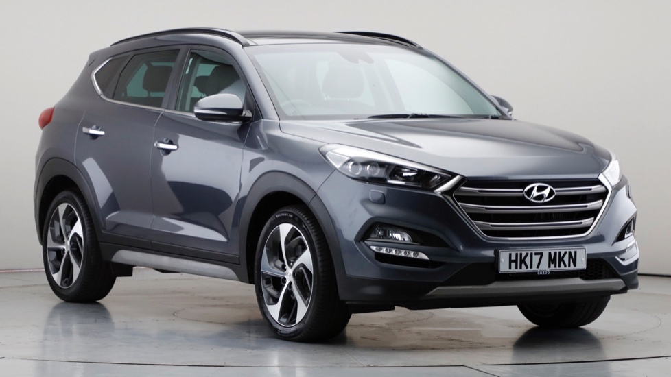 2017 Used Hyundai Tucson 2L Premium SE Blue Drive CRDi