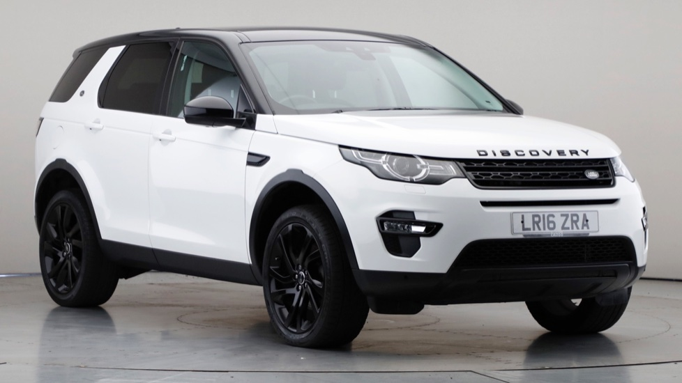 2016 Used Land Rover Discovery Sport 2L HSE Black TD4
