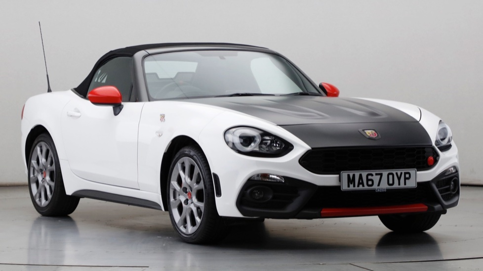 2017 Used Abarth 124 Spider 1.4L MultiAir