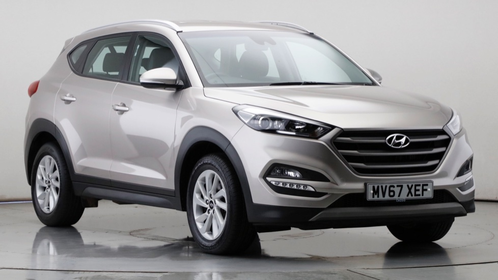 2017 Used Hyundai Tucson 1.7L SE Blue Drive CRDi
