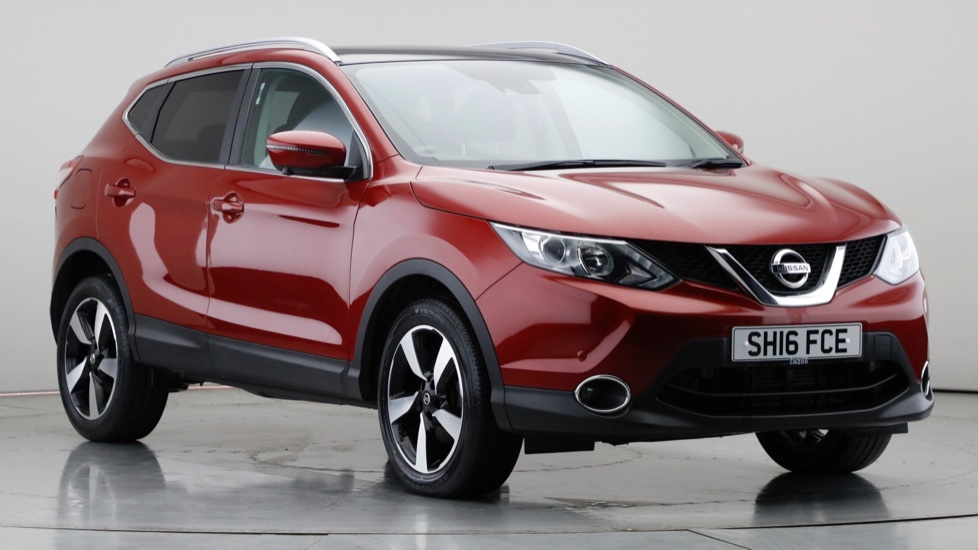 2016 Used Nissan Qashqai 1.2L N-Connecta DIG-T