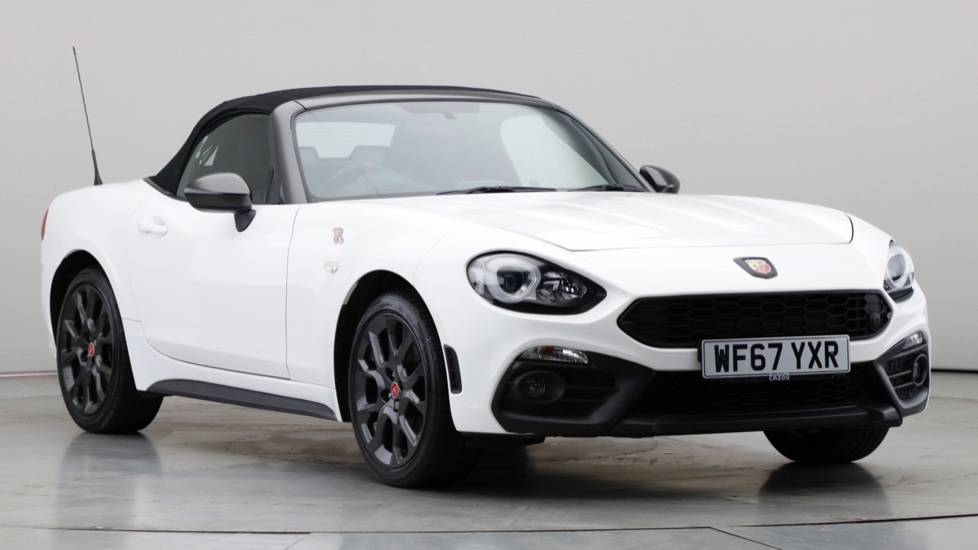 2017 Used Abarth 124 Spider 1.4L Scorpione MultiAir