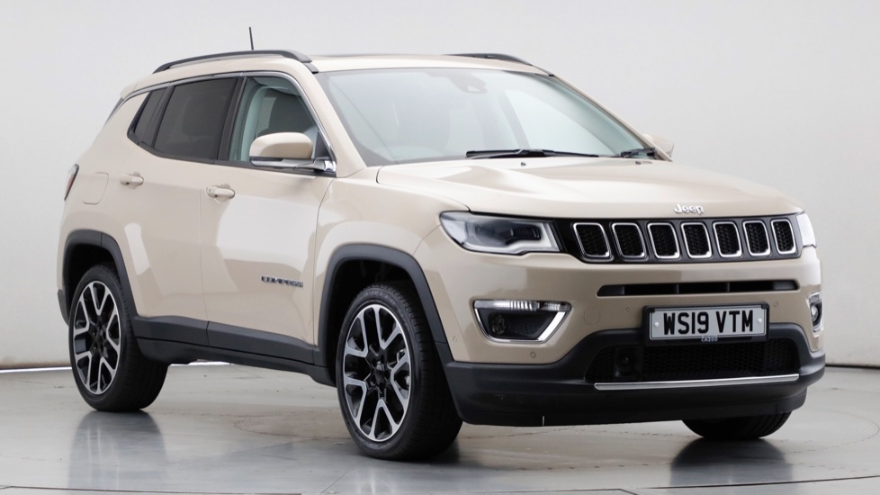 2019 Used Jeep Compass 1.6L Limited MultiJetII