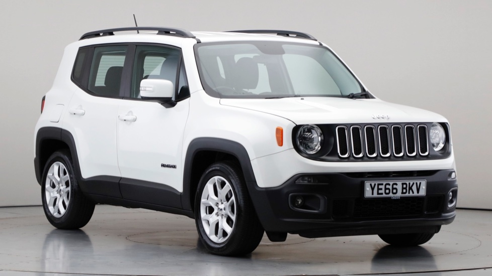 2017 Used Jeep Renegade 1.6L Longitude MultiJetII