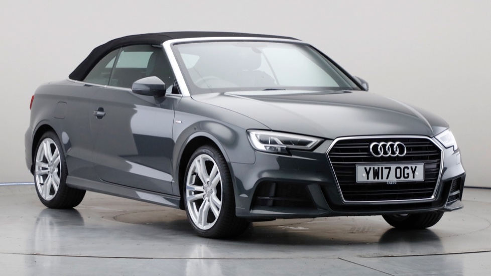 2017 Used Audi A3 Cabriolet 2L S line TDI