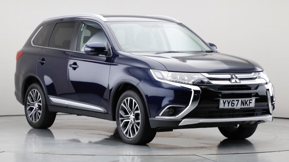 2017 Used Mitsubishi Outlander 2.3L 3 DI-D