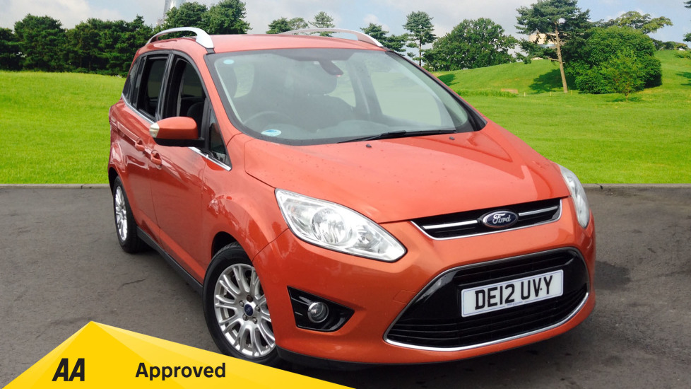 Ford Grand C-MAX 2.0 TDCi Titanium 5dr Powershift Diesel Automatic Estate (2012) available from Preston Motor Park Fiat and Volvo thumbnail image