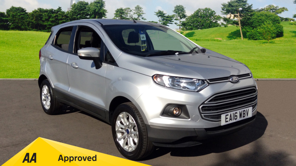 Ford EcoSport 1.0 EcoBoost Zetec 5dr Hatchback (2016) available from Warrington Motors Fiat, Peugeot and Vauxhall thumbnail image