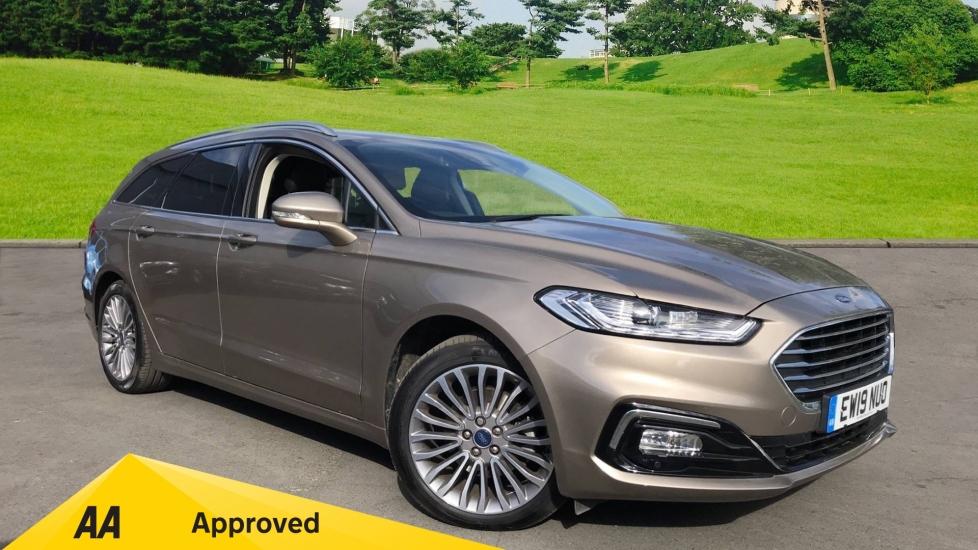 Ford Mondeo 2.0 EcoBlue 190ps Estate Titanium Edition 5dr Powershift Diesel Automatic (2019) image