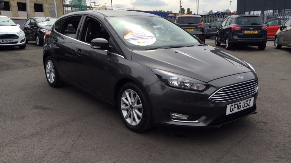Ford Focus 1.6 125 Titanium Powershift Automatic 5 door Hatchback (2016) image