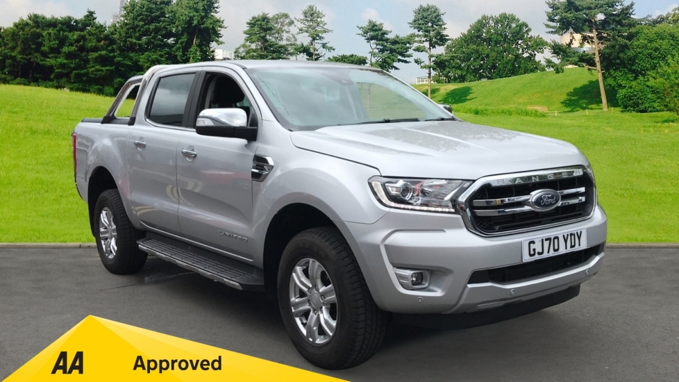 Ford New Ranger LIMITED 2.0 ECOBLUE 4X4 *PLUS VAT* Diesel Automatic 4 door Pickup (2020) image