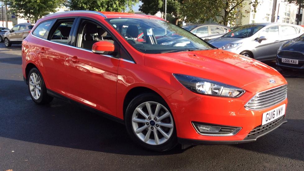 Ford Focus 1.0 EcoBoost 125 Titanium 5dr Automatic Estate (2016) image