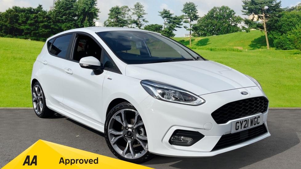 Ford Fiesta 1.0 EcoBoost Hybrid mHEV 155 ST-Line X Edition 5dr,  Hatchback (2021) image