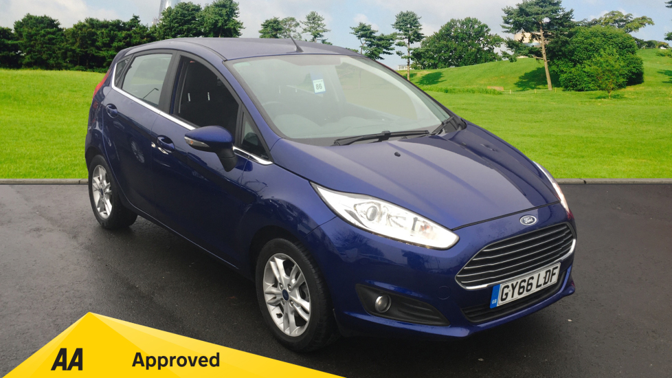 Ford Fiesta 1.6 Zetec Powershift Automatic 5 door Hatchback (2016)