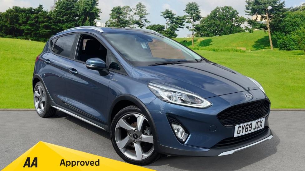 Ford Fiesta 1.0 EcoBoost Active 1 5dr, Sat Nav, Euro 6, Hatchback (2019)