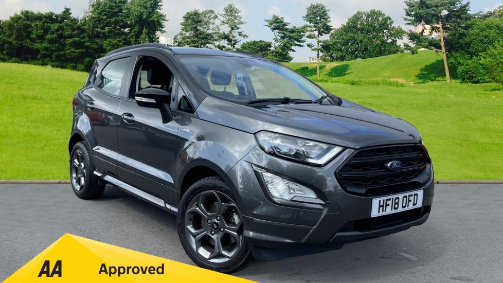 Ford EcoSport 1.0 EcoBoost 125 ST-Line, Sat Nav, Bluetooth, Automatic 5 door Hatchback (2018)