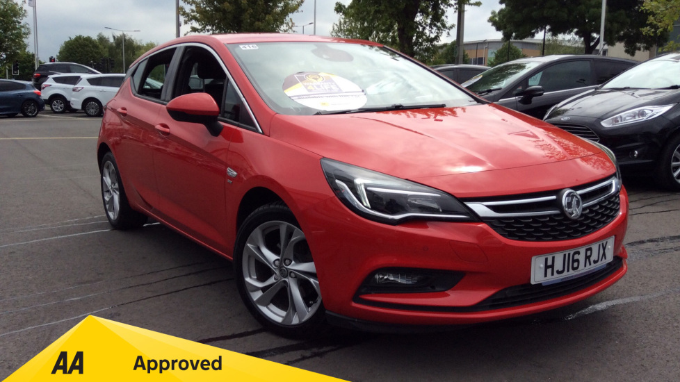 Vauxhall Astra 1.4T 16V 150 SRi Nav Automatic 5 door Hatchback (2016)
