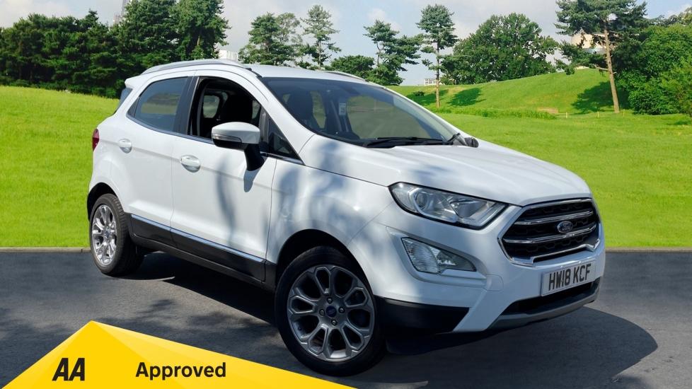 Ford EcoSport 1.0 EcoBoost 125ps Titanium 5dr, Navigation, Euro 6 Rated Hatchback (2018)