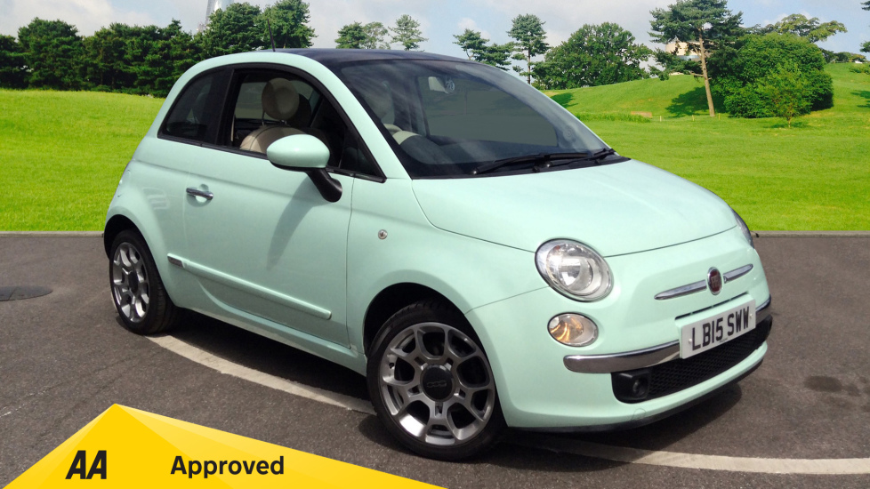 Fiat 500 1.2 Lounge [Start Stop] 3 door Hatchback (2015) available from Ford Ashford thumbnail image
